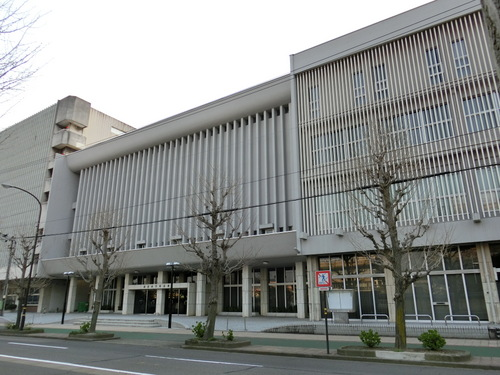 福井市文化会館の紹介 地図〈アクセス〉と写真