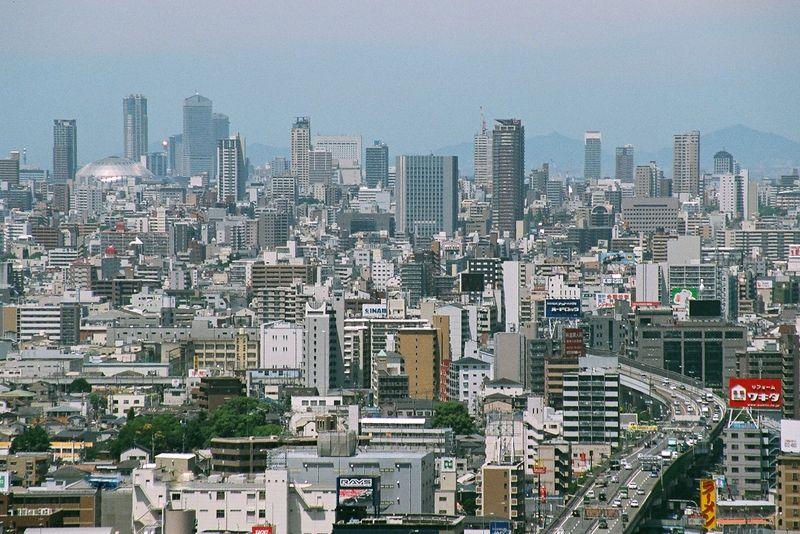 一覧ページ 2009.6 阪神高速13号東大阪線 16号大阪港線を経て... 大阪超高層ビルGA