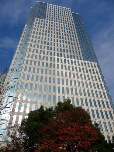 Picture of the Tokyo skyscraper, Harmony Tower